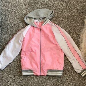 Pink Justice girls windbreaker